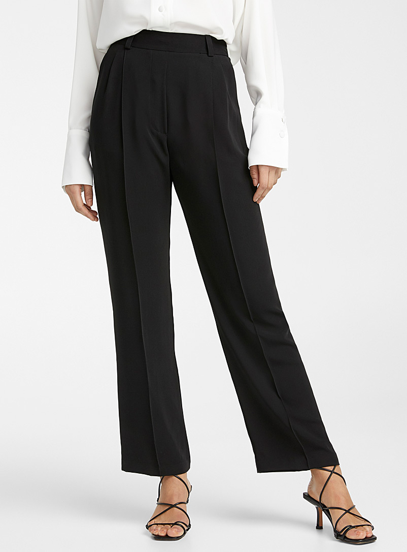 Beaufille Black Marden pant for women