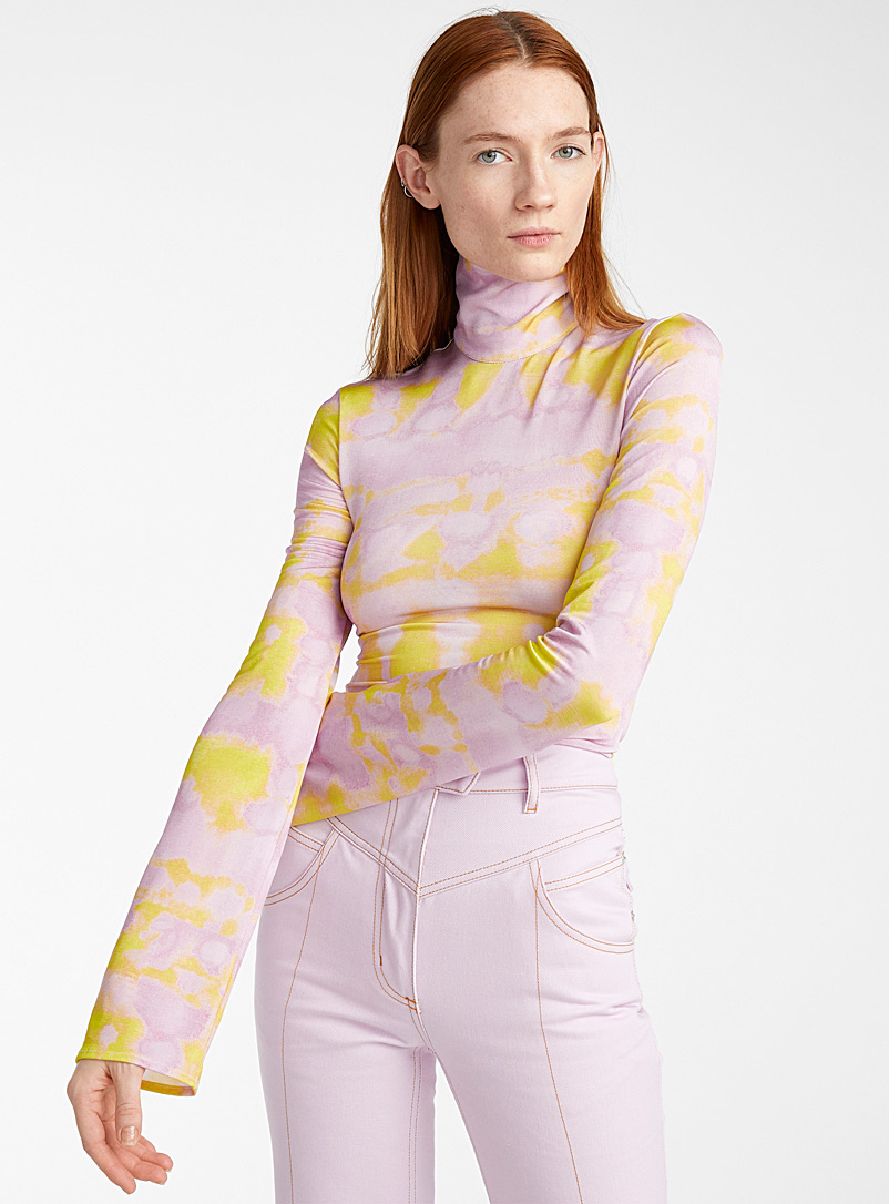 Ellery Lilac Papillon top for women