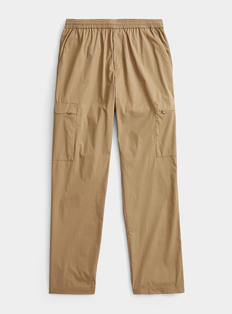 Norse Projects: Le pantalon cargo compressible Sable pour homme