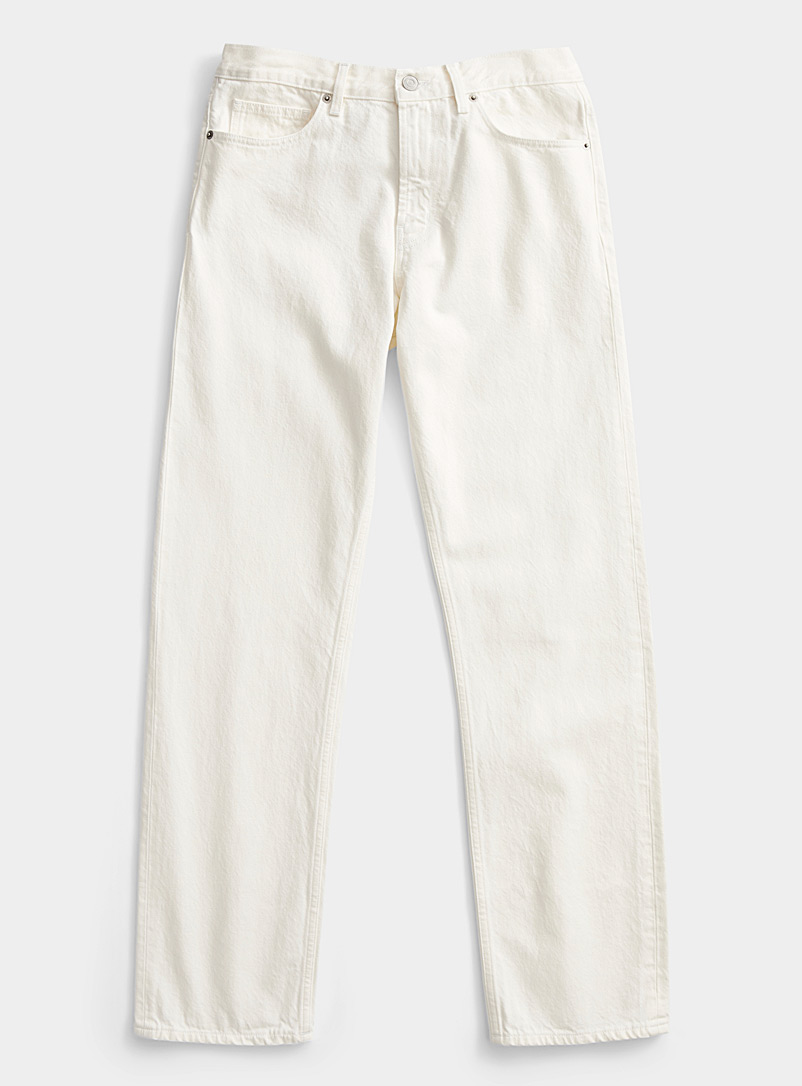 Norse Projects Ecru/Linen Beige jean  Straight fit for men