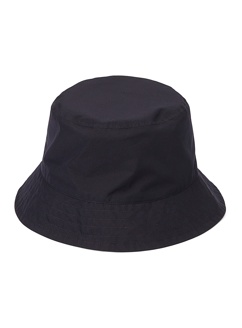Norse Projects Dark Blue Goretex bucket hat for men