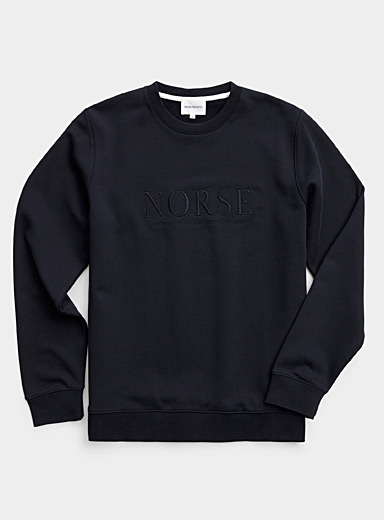 Le sweat logo monochrome