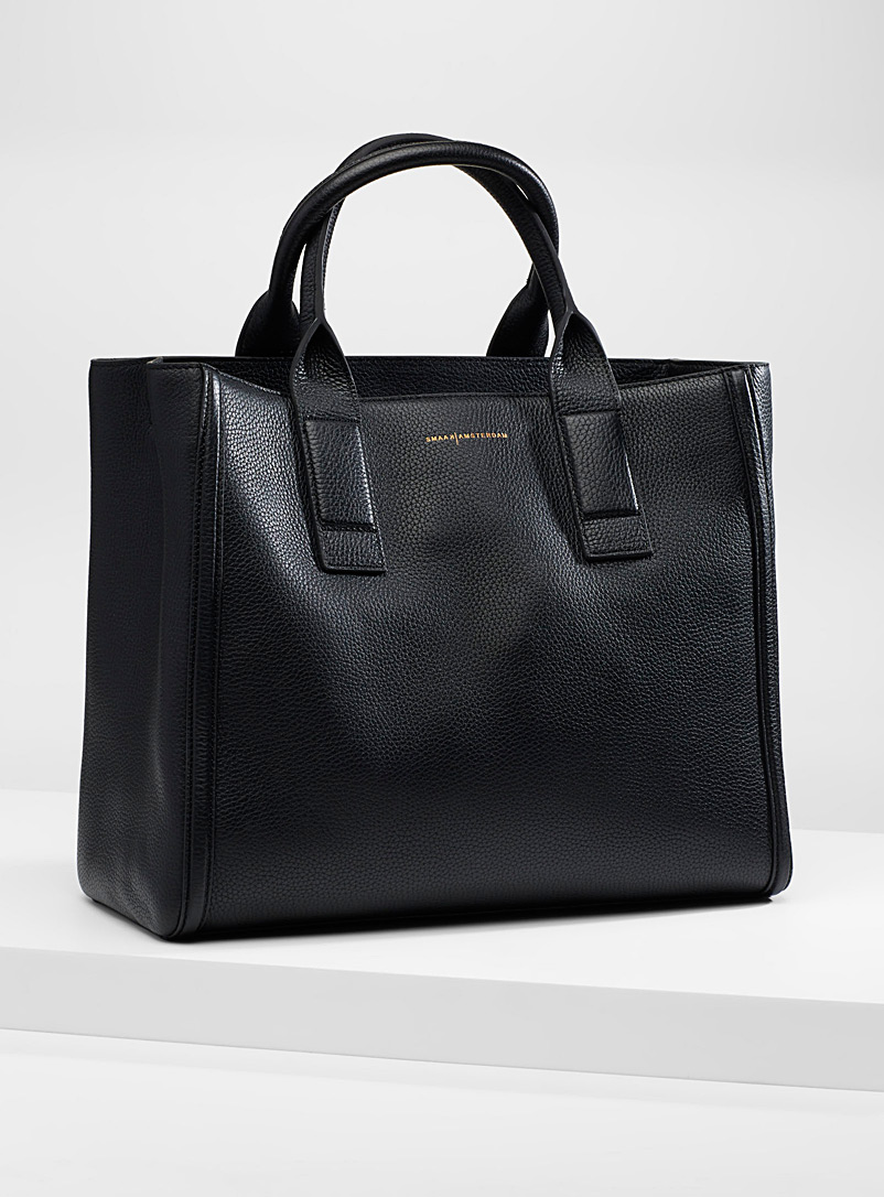 Smaak Amsterdam Black Harper tote for women