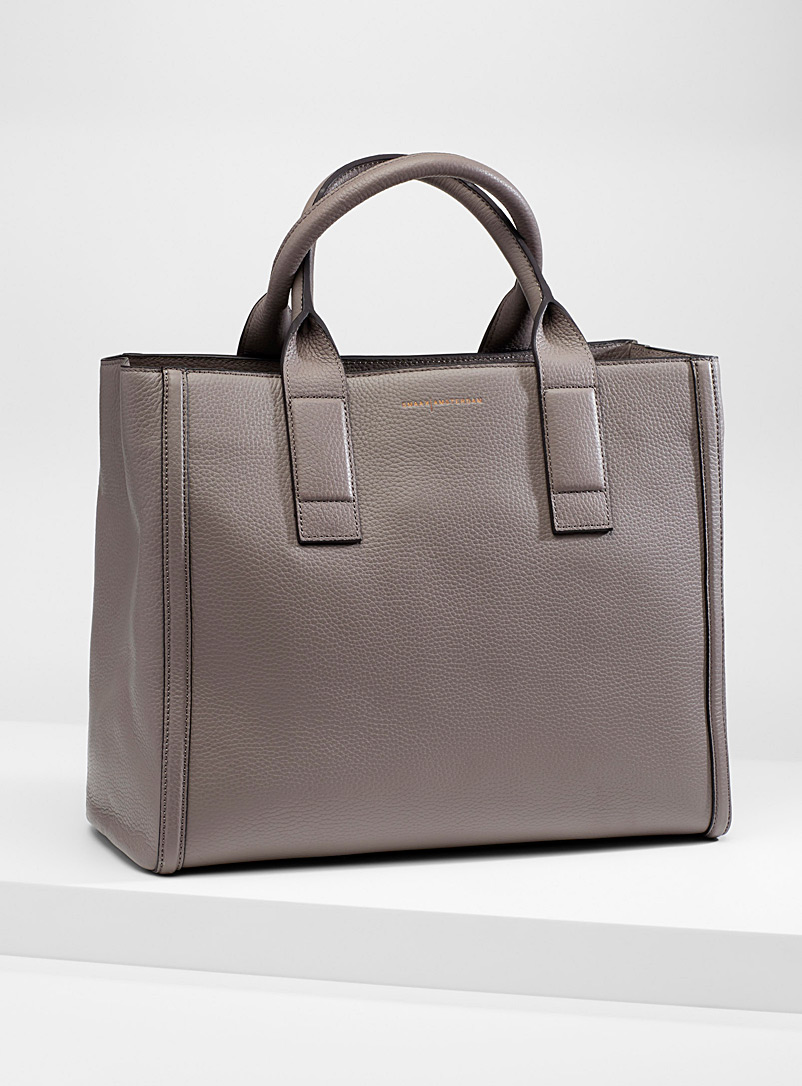 Smaak Amsterdam Grey Harper tote for women