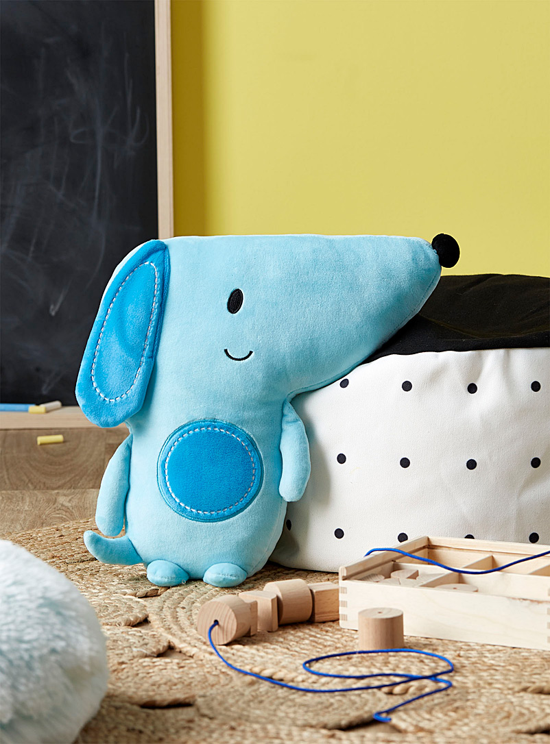 Simons Maison Blue Blue puppy plush cushion