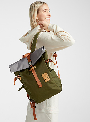 2.0 rolled backpack