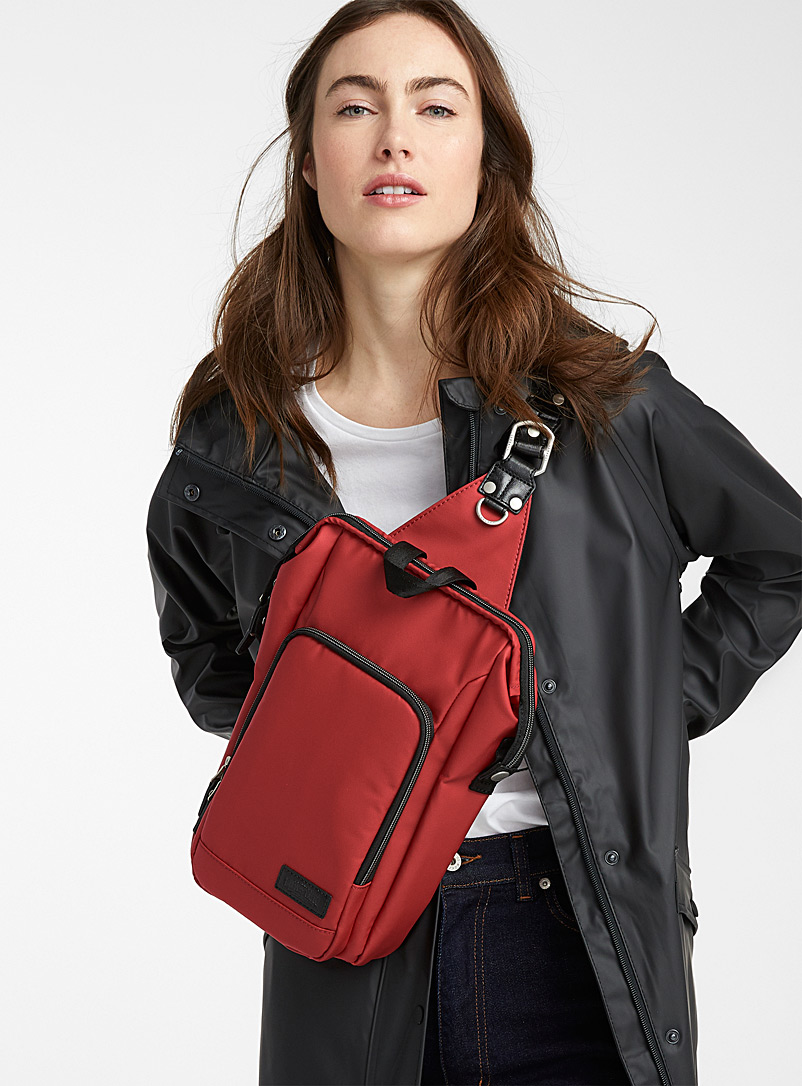 Harvest Label Red Urban shoulder bag for women