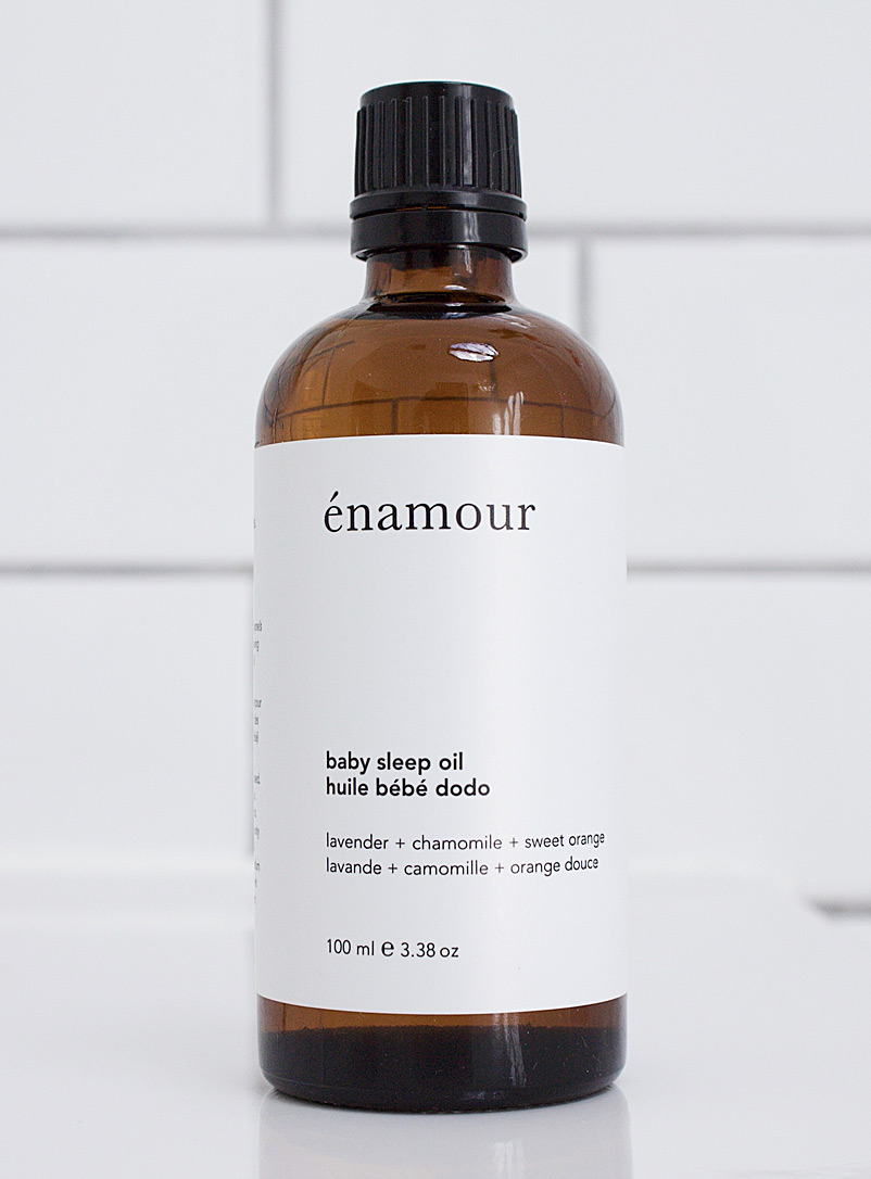 énamour Cream Beige Baby sleep oil