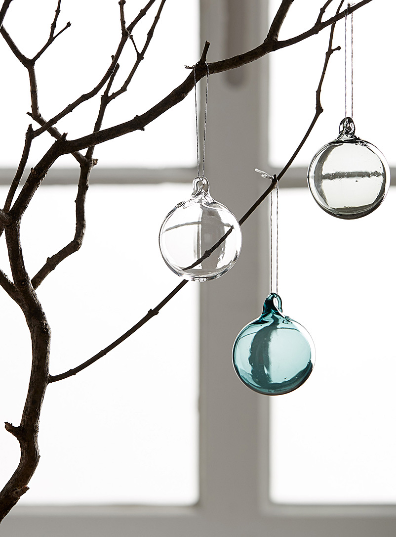 Blown glass Christmas bauble set - Brook Drabot - Assorted