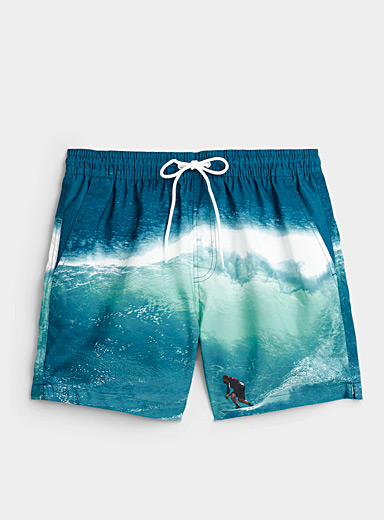 Extreme wave swim short