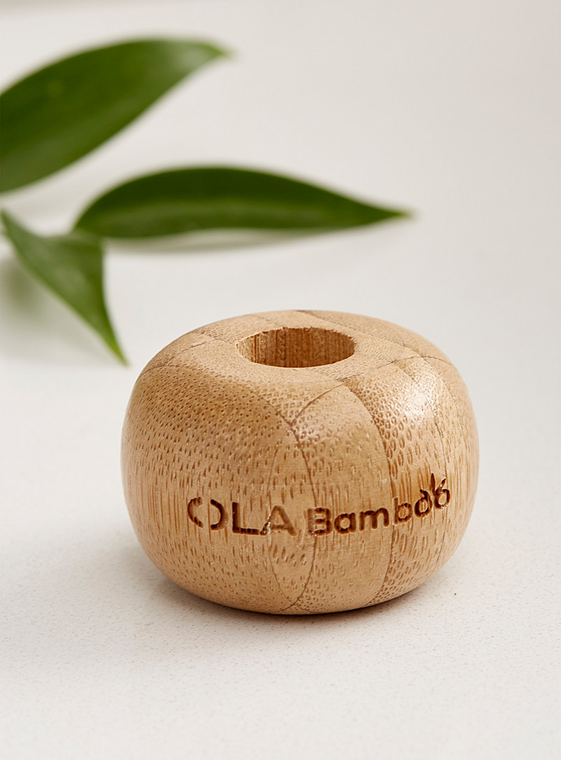 OLA Bamboo Assorted Eco-friendly bamboo toothbrush holder