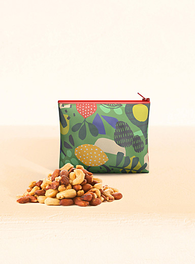 Hubert Cormier Green Fun food small reusable snack bag