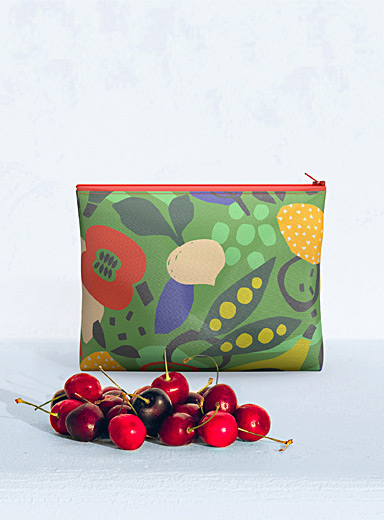 Fun food medium reusable snack bag