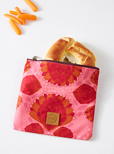 Pink buds snack bag