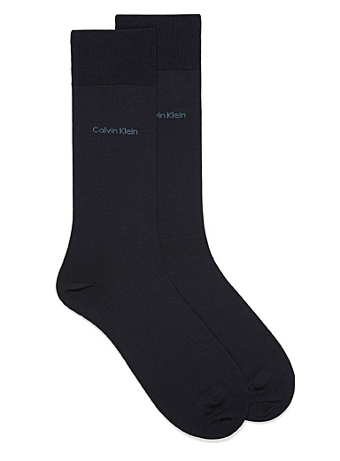 Egyptian cotton heather dress socks