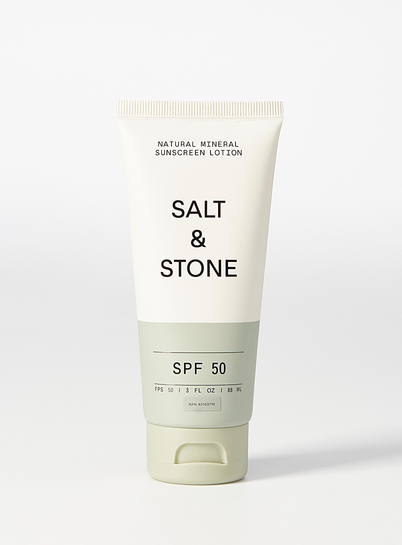 Salt & Stone Assorted Natural mineral SPF 50 sunscreen lotion for women