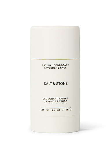 Salt & Stone White Lavender and sage natural deodorant for women