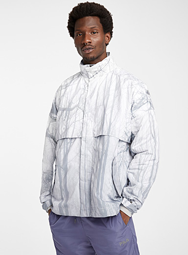 FILA Fjeld by Astrid Andersen: Le blouson Olle Shell Blanc pour homme