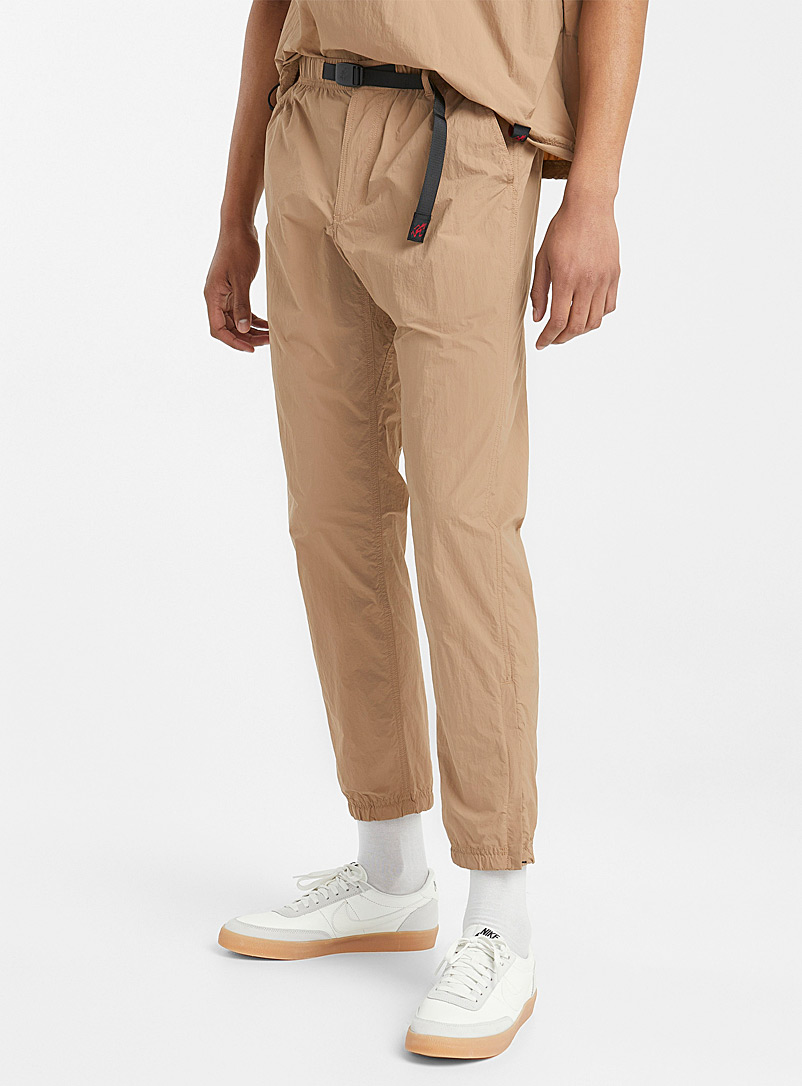 Gramicci Sand Featherweight fabric jogging pant for men
