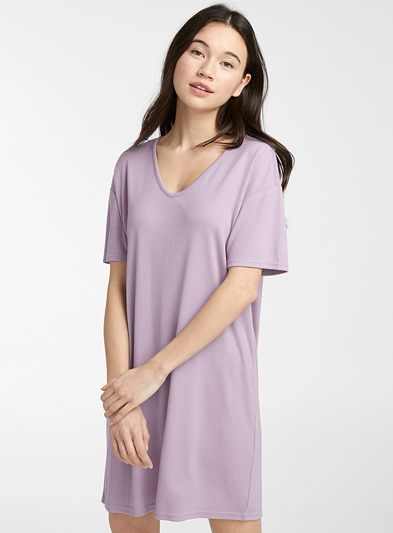 Twik Mauve TENCEL* modal T-shirt dress for women