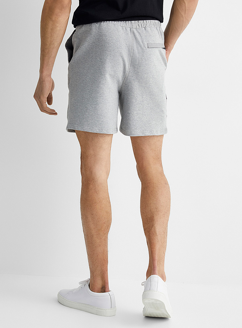 Le 31 Fawn Innovation sweat short for men