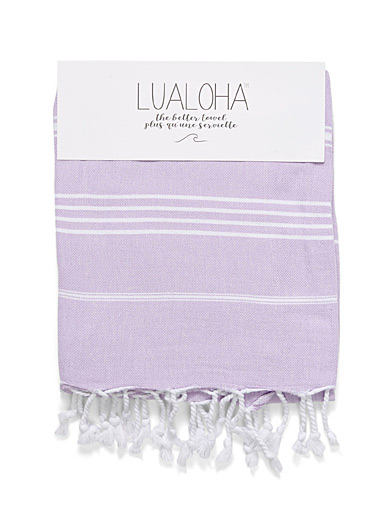 La fouta fines rayures traditionnelles