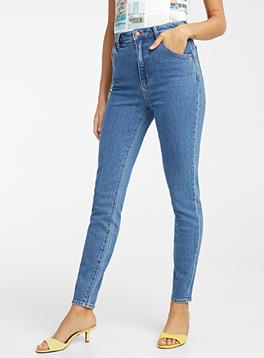 Rolla's Baby Blue Ankle-length Eastcoast skinny jean for women