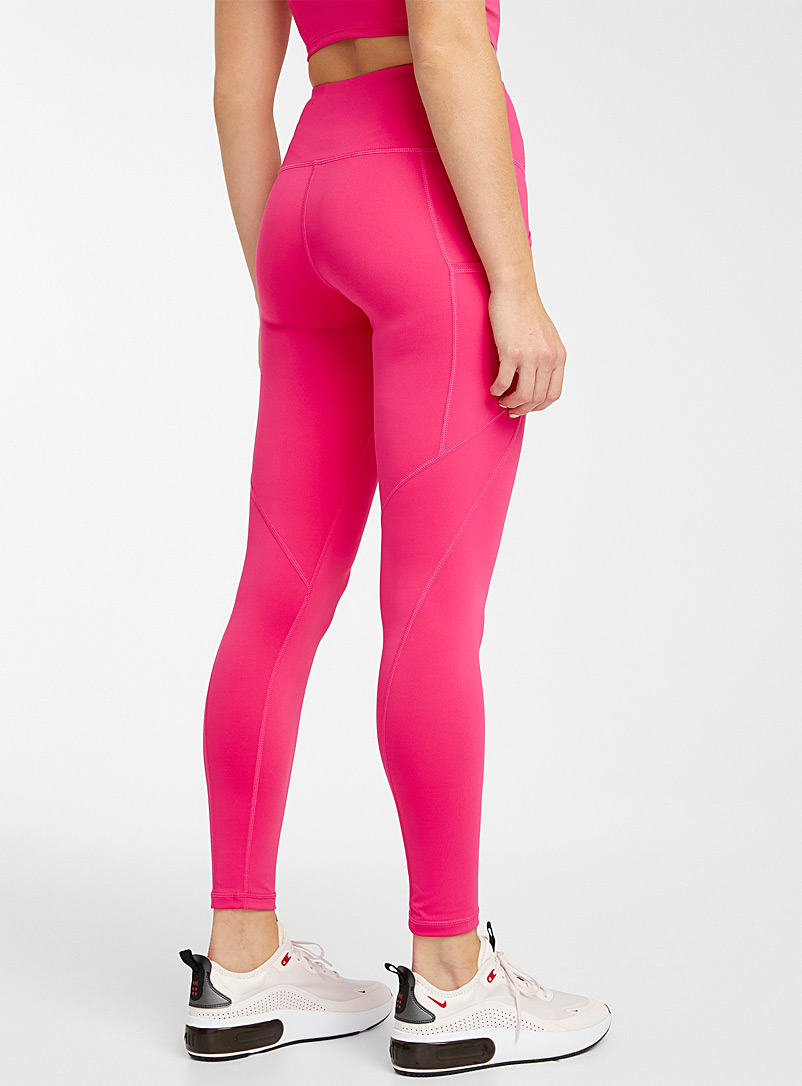 Mono B Blue High-rise legging with pockets for women
