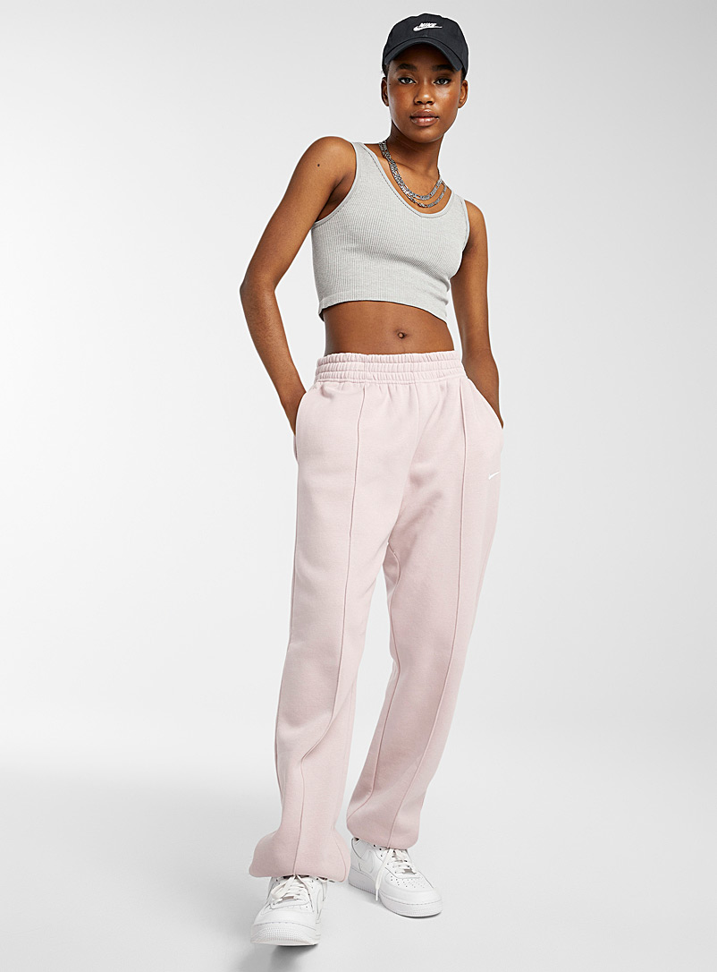 Twik Grey Ultra-cropped ribbed cami for women