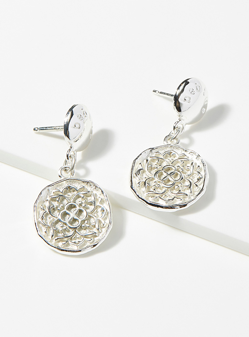 Beblue Silver Rosettes earrings for women