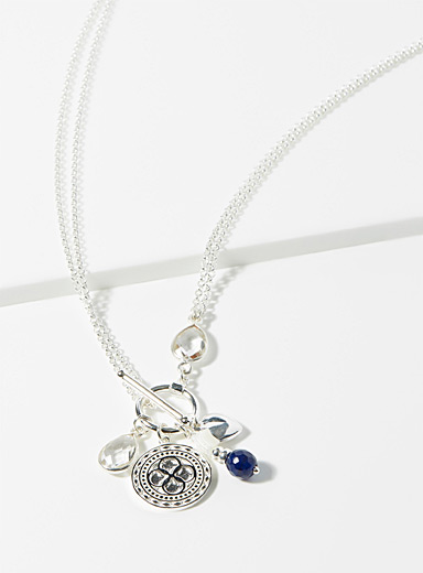 Beblue Silver Be Infinite necklace for women