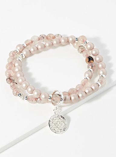 Beblue Assorted pink  Be Magnificent bracelet for women