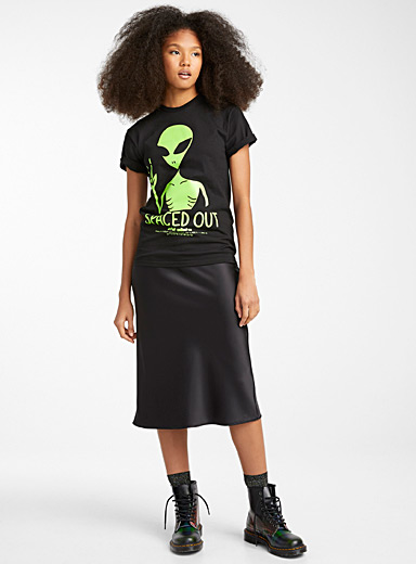 Le t-shirt extraterrestre fluo