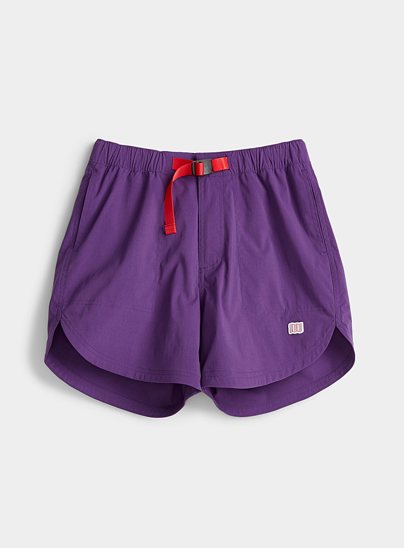 Topo Designs Lilacs River short for women