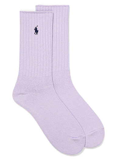 Polo Ralph Lauren Lilacs Classic ribbed socks for men
