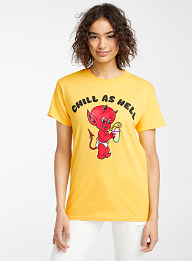 Chill as Hell tee