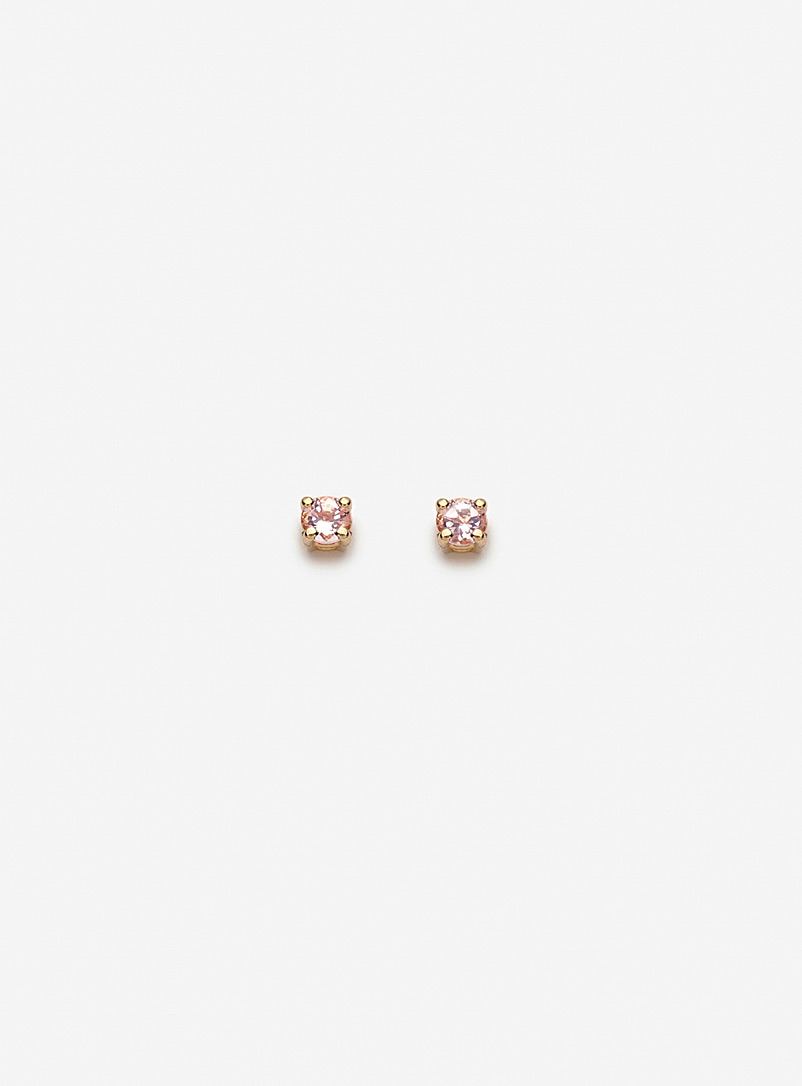 Pilar Agueci Pink Freya earrings