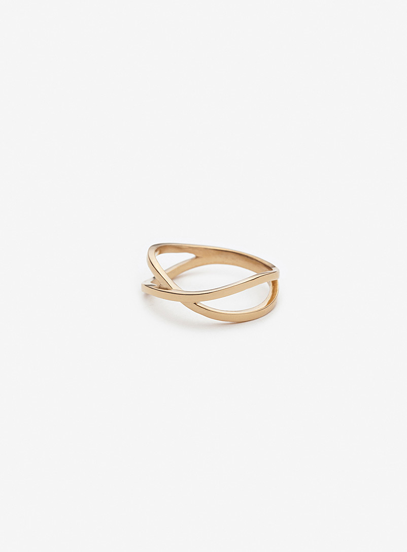 Pilar Agueci Assorted Deva gold ring