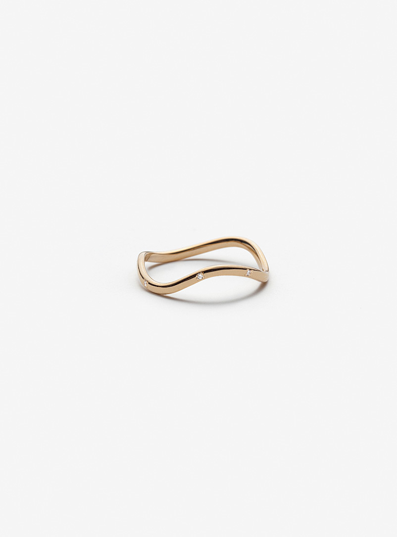 Cynthia diamond and gold ring
