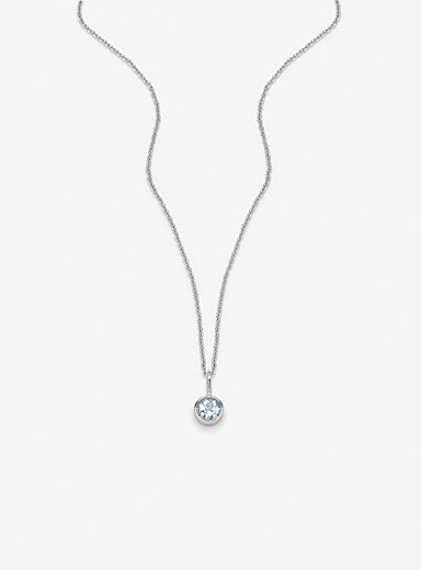 Pilar Agueci Blue Maia pendant necklace
