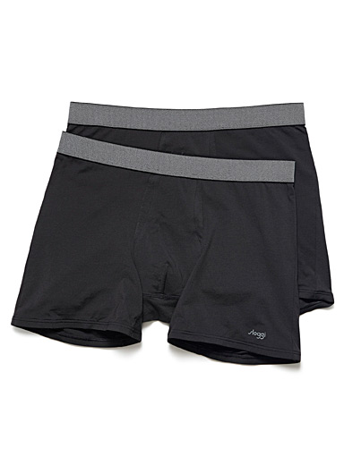 Solid breathable boxer brief 2-pack