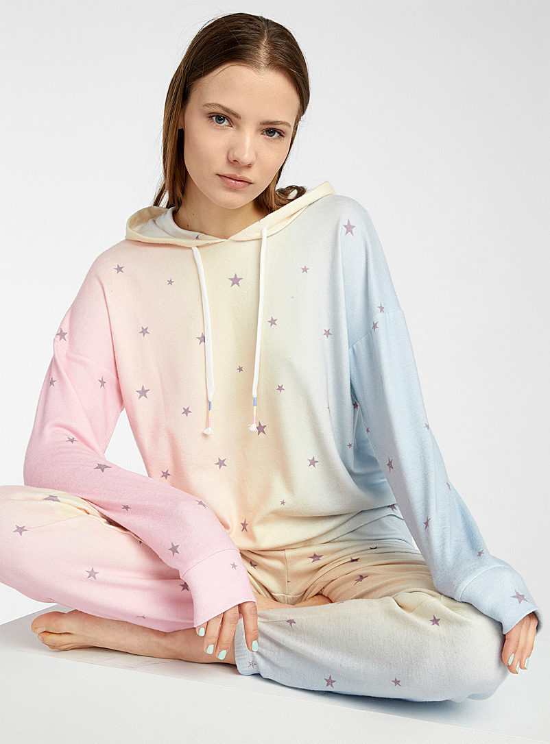 P.J. Salvage: Le sweat à capuche Peachy Party Assorti pour femme