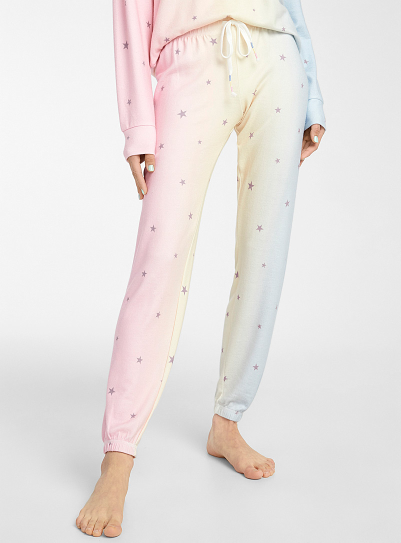 P.J. Salvage Assorted Peachy Party joggers for women