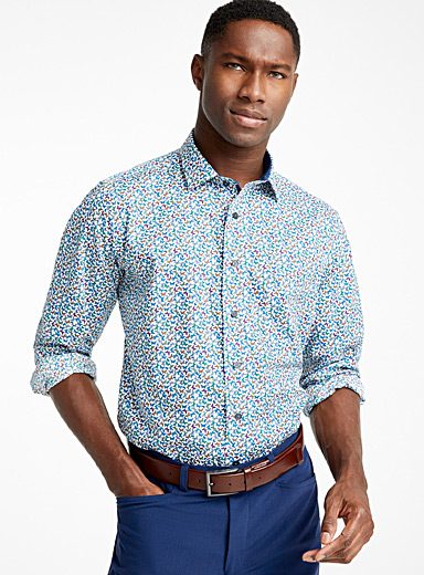 Colourful butterfly shirt <br>Comfort fit