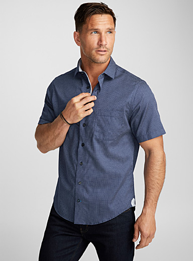 Easy care dotwork shirt <br>Comfort fit