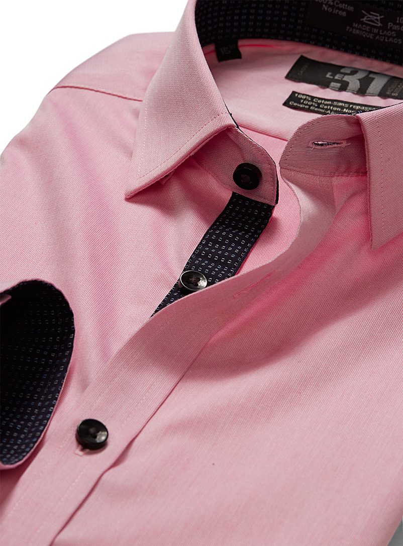 Non-iron dress shirt  Semi-tailored fit - Easy Care - Dusky Pink