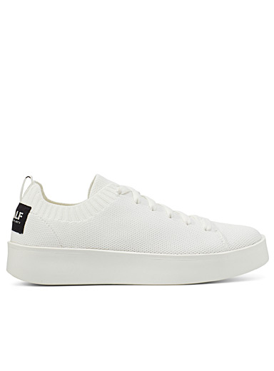 Eliot recycled polyester knit sneakers