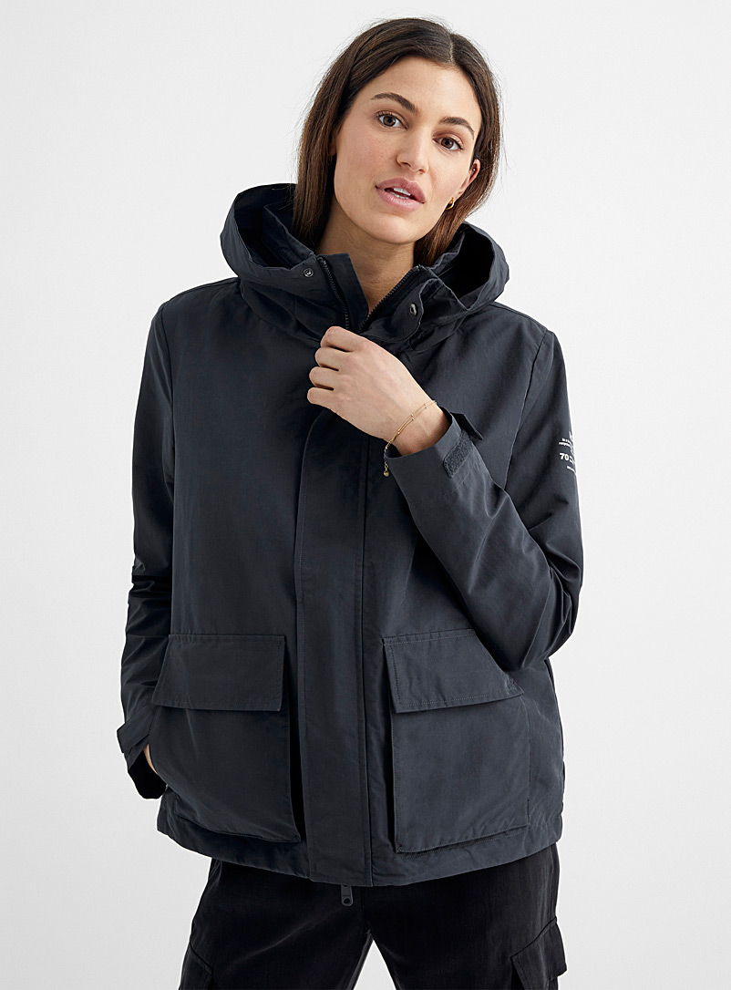 Ecoalf Oxford Reef recycled polyester jacket for women