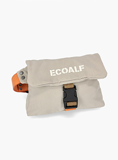 ECOALF Cream Beige Vamba belt bag for women