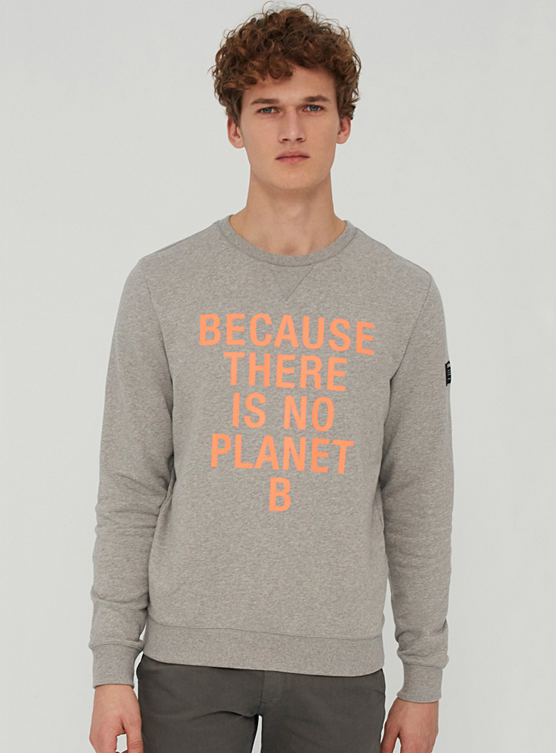 Eco message sweatshirt